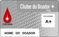 Cartão Clube do Doador