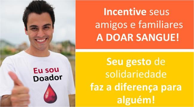 Incentive a doação de sangue